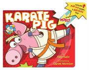 KARATE PIG by Alan Katz