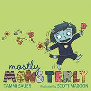 Book Cover for MOSTLY MONSTERLY