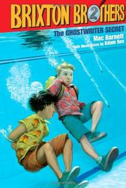THE GHOSTWRITER SECRET by Mac Barnett