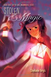 STOLEN MAGIC by Stephanie Burgis