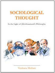 SOCIOLOGICAL THOUGHT by Venkata Mohan