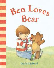 Cover art for BEN LOVES BEAR