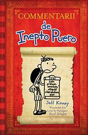 COMMENTARII DE INEPTO PUERO by Jeff Kinney