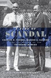 A TIME OF SCANDAL by Rosemary Stevens