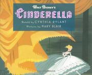 WALT DISNEY'S CINDERELLA by Cynthia Rylant