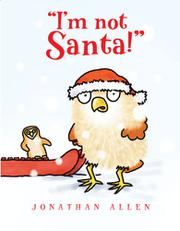 "Book Cover for ""I'M NOT SANTA!"""