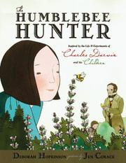 THE HUMBLEBEE HUNTER by Deborah Hopkinson
