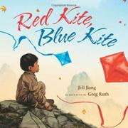 Book Cover for RED KITE, BLUE KITE