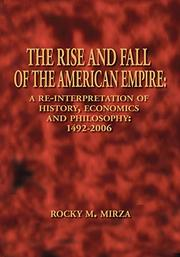 Cover art for THE RISE AND FALL OF THE AMERICAN EMPIRE