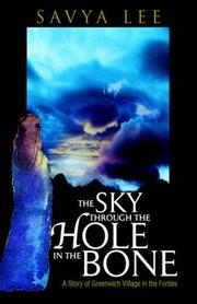 THE SKY THROUGH THE HOLE IN THE BONE by Savya Lee
