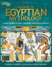 TREASURY OF EGYPTIAN MYTHOLOGY by Donna Jo Napoli