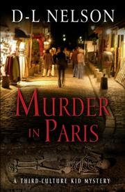 Cover art for MURDER IN PARIS