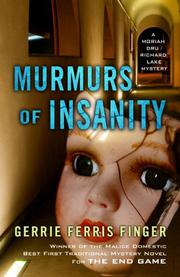 MURMURS OF INSANITY by Gerrie Ferris Finger