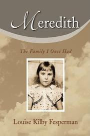 MEREDITH by Louise Kilby Fesperman