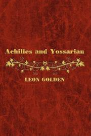 ACHILLES AND YOSSARIAN by Leon Golden