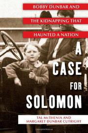 Cover art for A CASE FOR SOLOMON