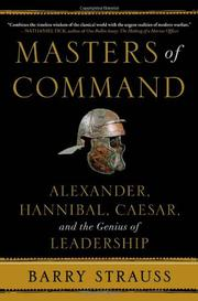 Book Cover for MASTERS OF COMMAND