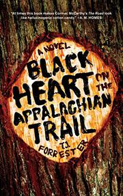 Cover art for BLACK HEART ON THE APPALACHIAN TRAIL