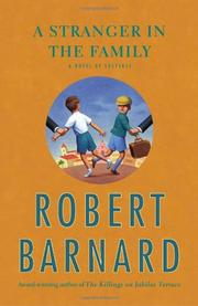 A STRANGER IN THE FAMILY by Robert Barnard