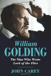 Cover art for WILLIAM GOLDING