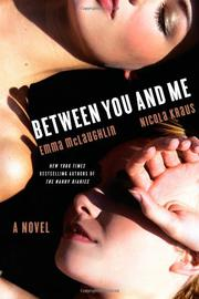 BETWEEN YOU AND ME by Nicola Kraus