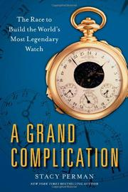 Cover art for A GRAND COMPLICATION