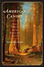 Cover art for AMERICAN CANOPY