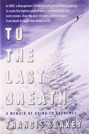 Cover art for TO THE LAST BREATH