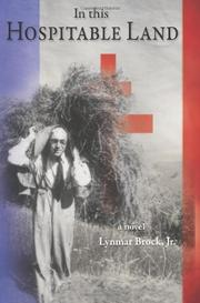 IN THIS HOSPITABLE LAND by Lynmar Brock, Jr.