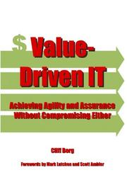 VALUE-DRIVEN IT by Cliff Berg