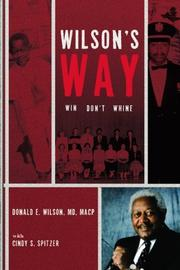 Book Cover for WILSON'S WAY