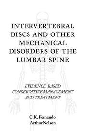 Cover art for Intervertebral Discs and Other Mechanical Disorders of the Lumbar Spine
