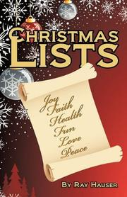 CHRISTMAS LISTS by Ray Hauser