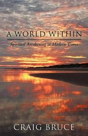 Cover art for A WORLD WITHIN