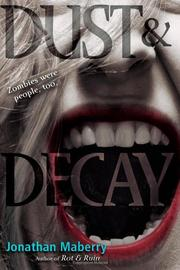 DUST & DECAY by Jonathan Maberry