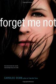 Cover art for FORGET ME NOT