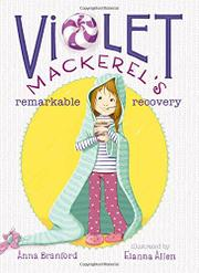 Book Cover for VIOLET MACKEREL'S REMARKABLE RECOVERY