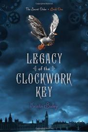 Cover art for LEGACY OF THE CLOCKWORK KEY