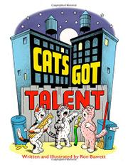 CATS GOT TALENT by Ron Barrett