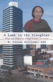A LAMB TO THE SLAUGHTER by W. Lionel Williams