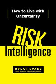 Book Cover for RISK INTELLIGENCE