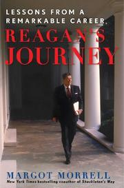 REAGAN'S JOURNEY by Margot Morrell