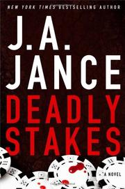 Cover art for DEADLY STAKES