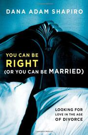 Book Cover for YOU CAN BE RIGHT (OR YOU CAN BE MARRIED)