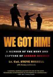 WE GOT HIM! by Steve Russell