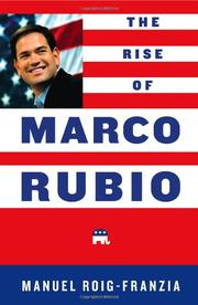 Cover art for THE RISE OF MARCO RUBIO