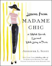Book Cover for LESSONS FROM MADAME CHIC