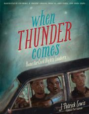 Cover art for WHEN THUNDER COMES