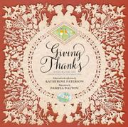 GIVING THANKS by Katherine Paterson
