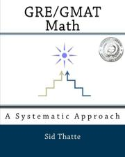 GRE/GMAT MATH by Sid Thatte
